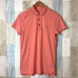 All Saints Polo Shirt Size XS